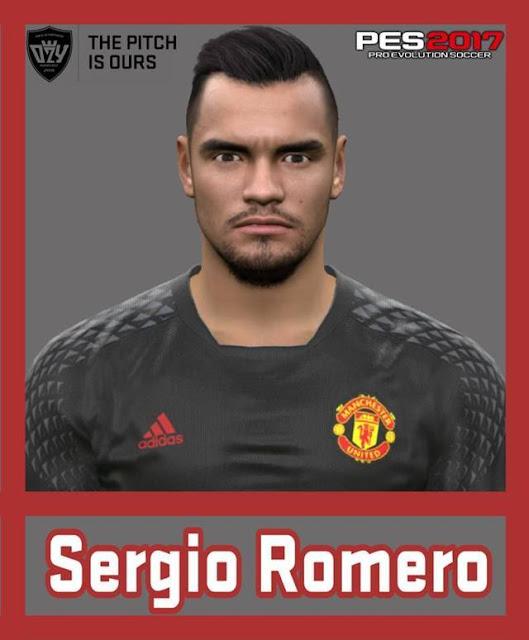 Sergio Romero Face PES 2017
