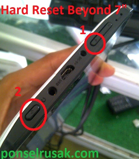 How To Hard Reset Beyond 7 inch tab1