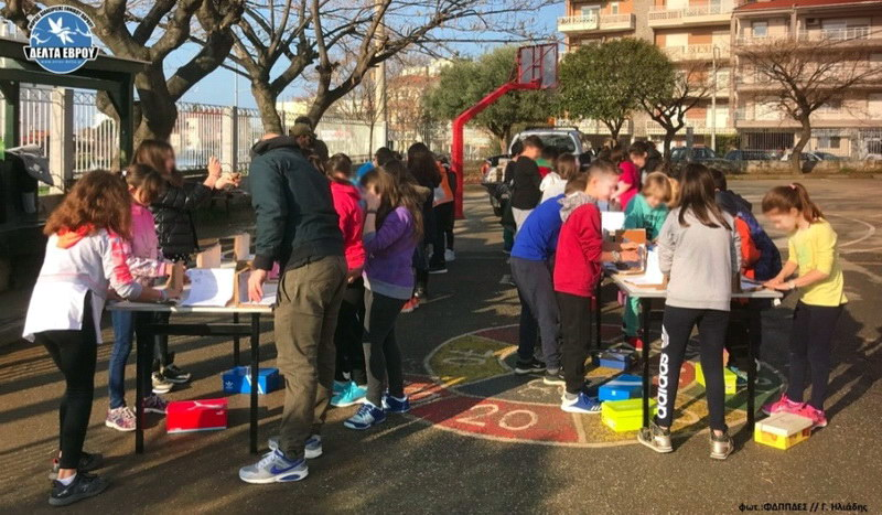 Αλεξανδρούπολη: Καλωσόρισμα της Άνοιξης και των χελιδονιών