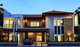 contoh gambar rumah minimalis 2 lantai - rumah interior lampung