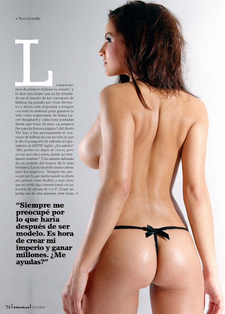 Fotos de Lacey Banghard nua pelada na Interviu