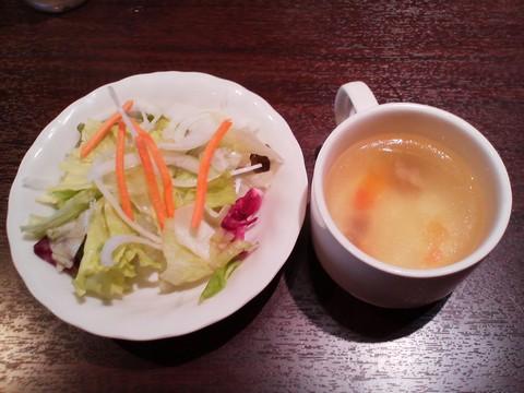 サラダ・スープ いきなりステーキ岐阜茜部店2回目