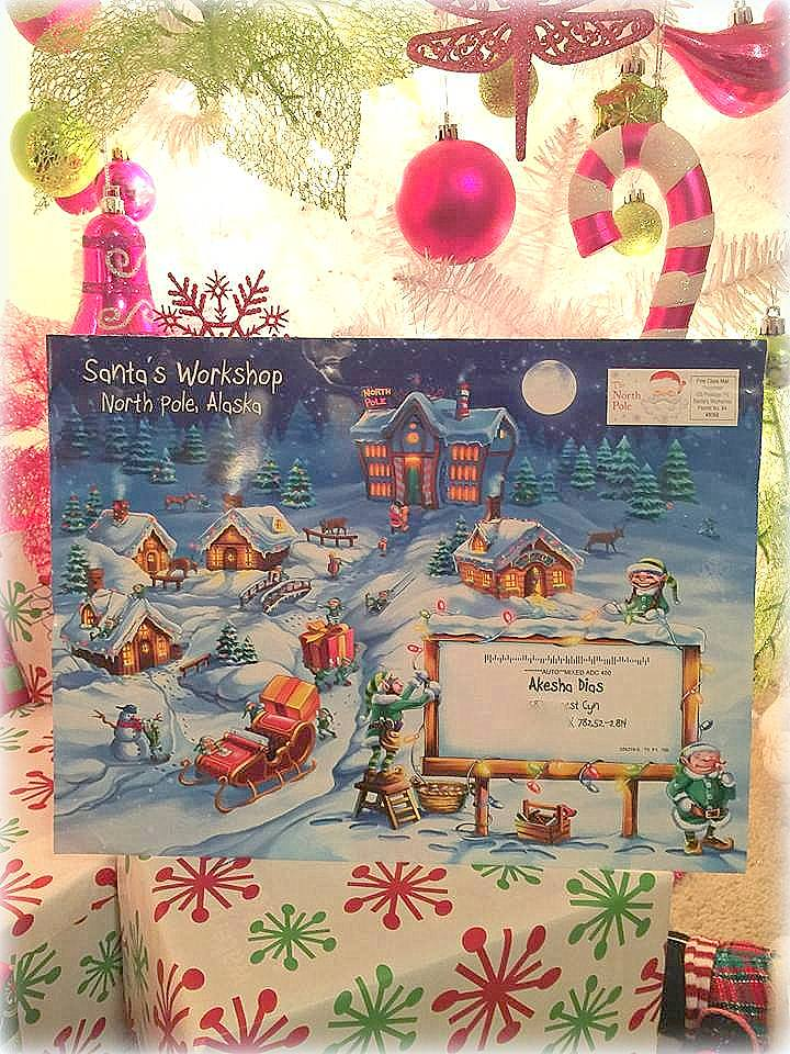 personalized santa letter package lettersfromsanta blogcatalog