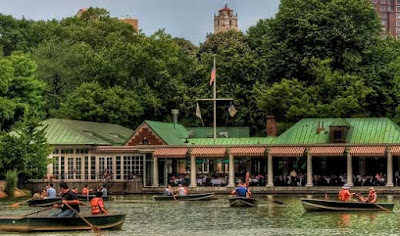 lieu de tournage Loeb Central Park Boathouse