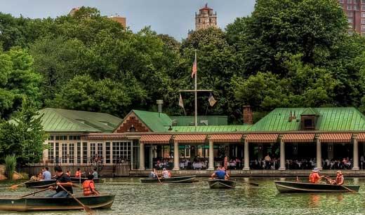 lieu de tournage Loeb Central Park Boathouse