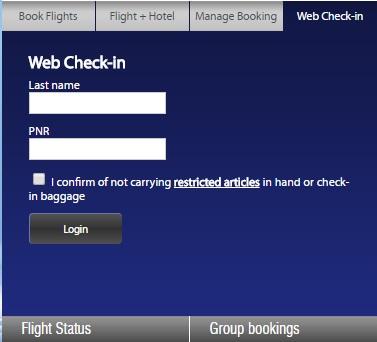 Go air group booking
