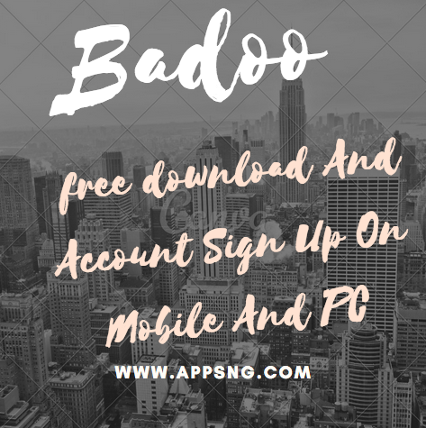 Badoo dating site sign up