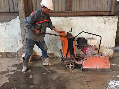 Khoan cắt bê tông tại huyện Châu Thành, Trà Vinh