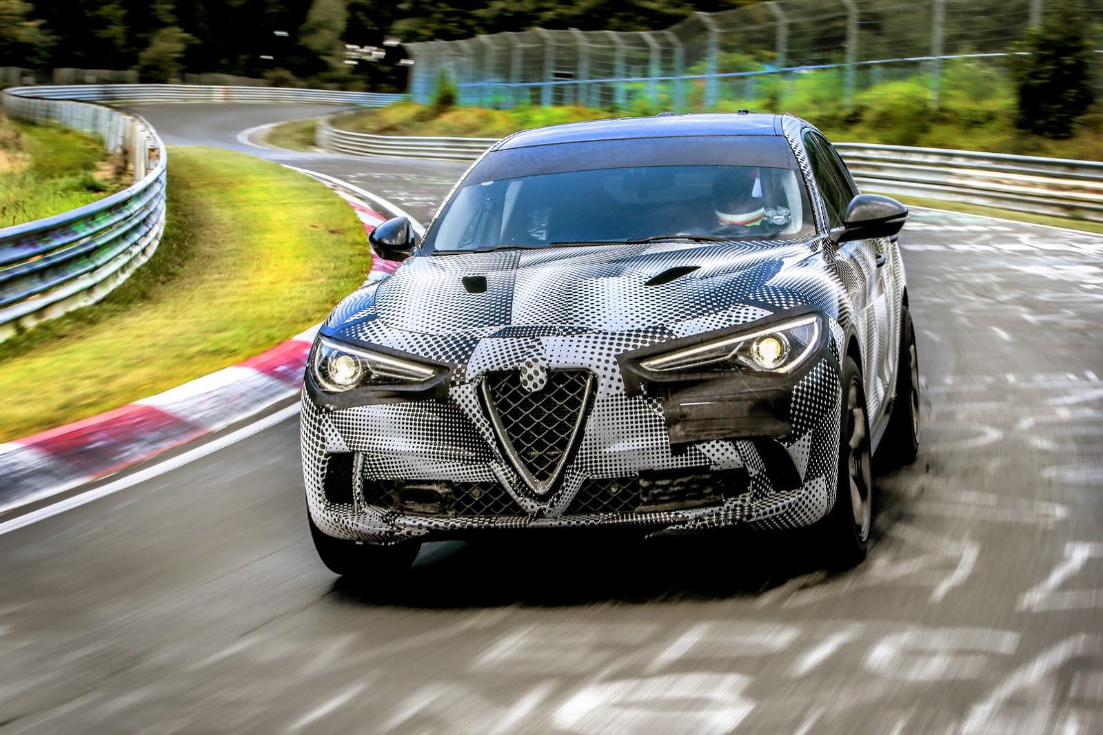 2017 - [Alfa Romeo] Stelvio [Tipo 949] - Page 31 Alfa-Stelvio-QV-Ring-4