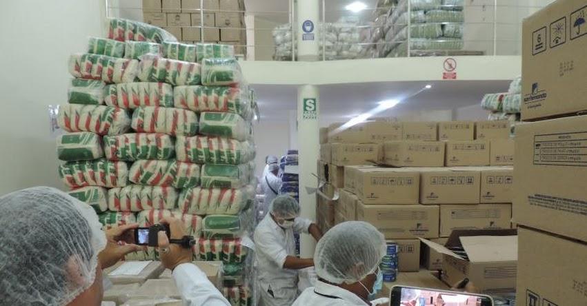 QALI WARMA: Programa social verifica calidad de alimentos en almacén de proveedor en Cajamarca - www.qaliwarma.gob.pe