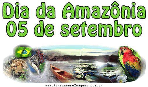 Resultado de imagem para dia da amazonia texto