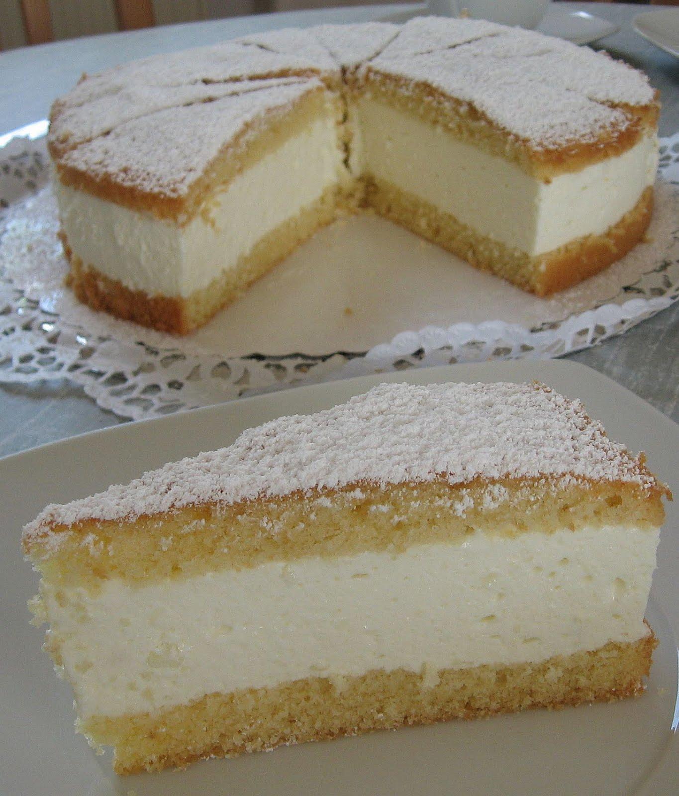 Kate Kuche Und Mehr Zitronen Quark Sahne Torte