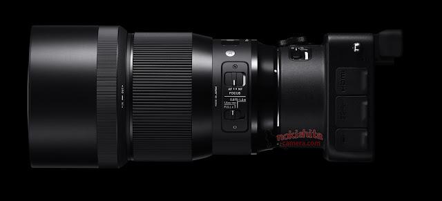 Sigma 135mm f/1.8 DG HSM с камерой SG Quattro H