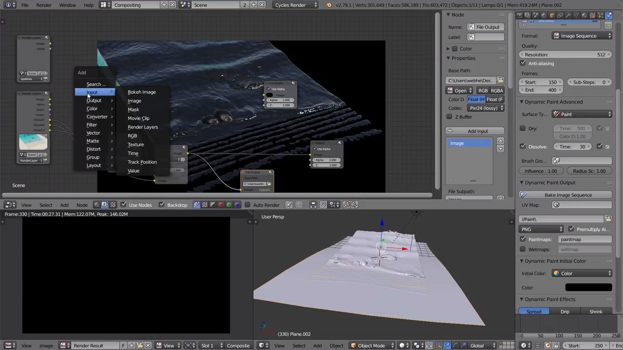 Simulating Ocean Waves in Blender | CG TUTORIAL