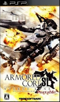 Armored Core: Silent Line Portable PPSSPP CSO Highly Compressed 308mb