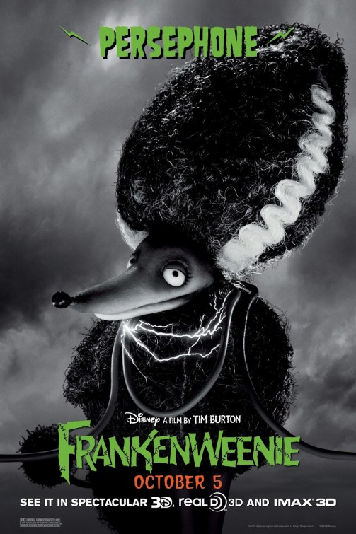 Frankenweenie Persephone movie poster