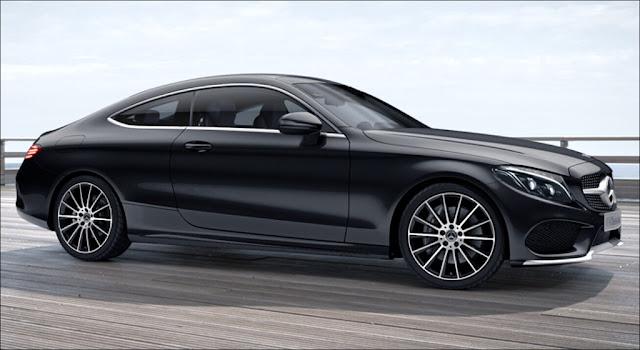 Ngoại thất Mercedes C300 Coupe 2019 thiết kế thể thao mạnh mẽ