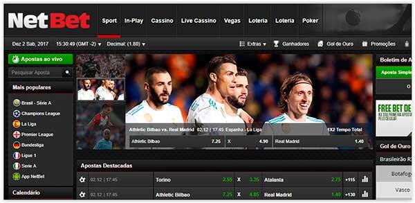 NetBet site de apostas esportivas