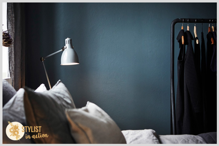 Color en las paredes. Tonos oscuros con personalidad y glamour. Dormitorios soñados