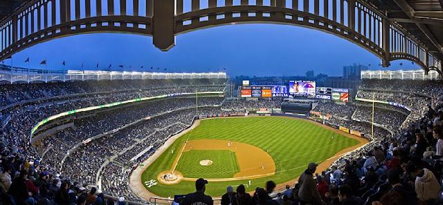 Informações do Estádio dos Yankees em Nova York