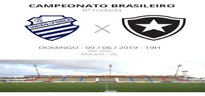 Como assistir CSA x Botafogo ao vivo na TV e online