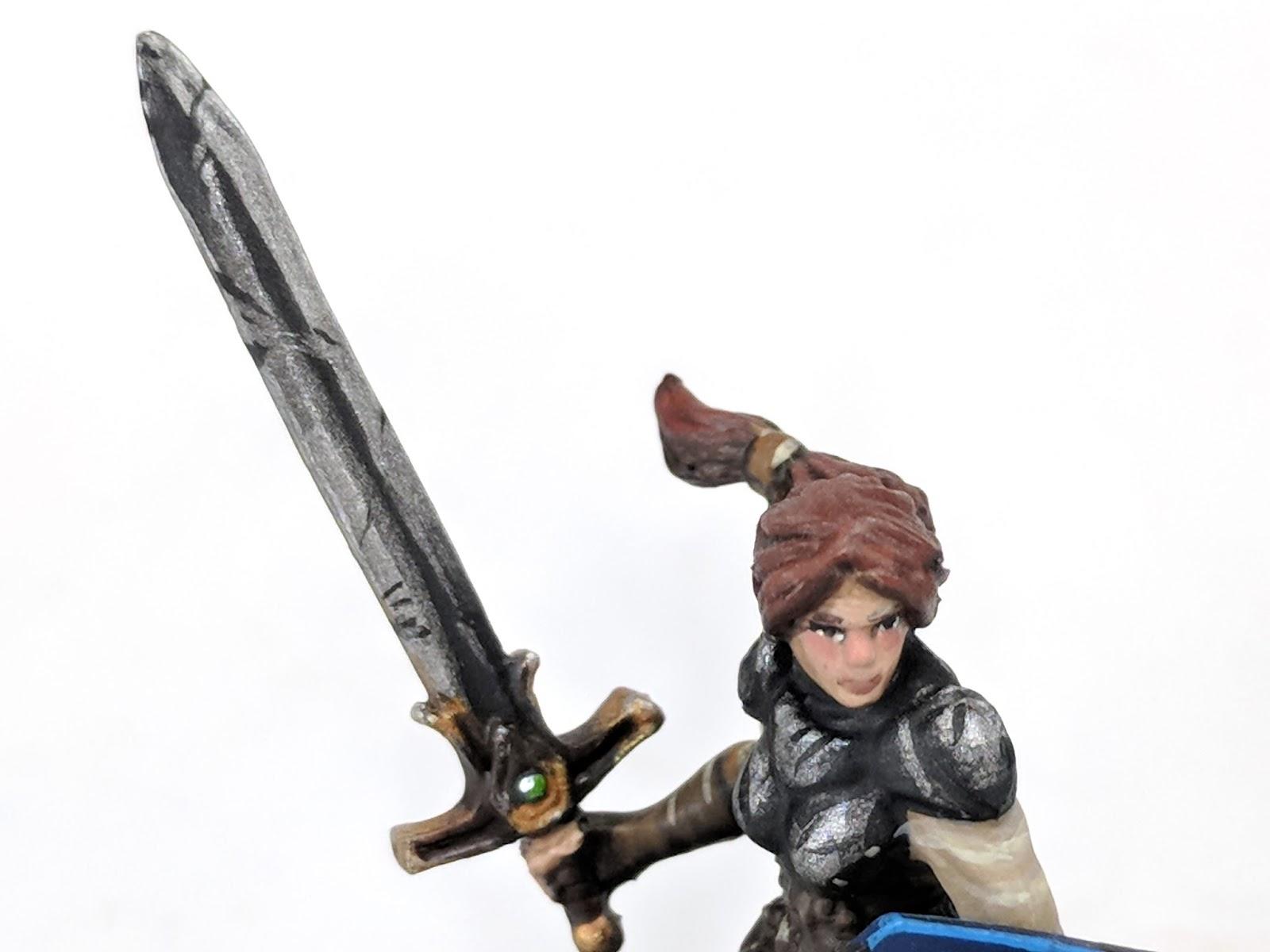 Brush Wizard: Miniature Monday - Talia