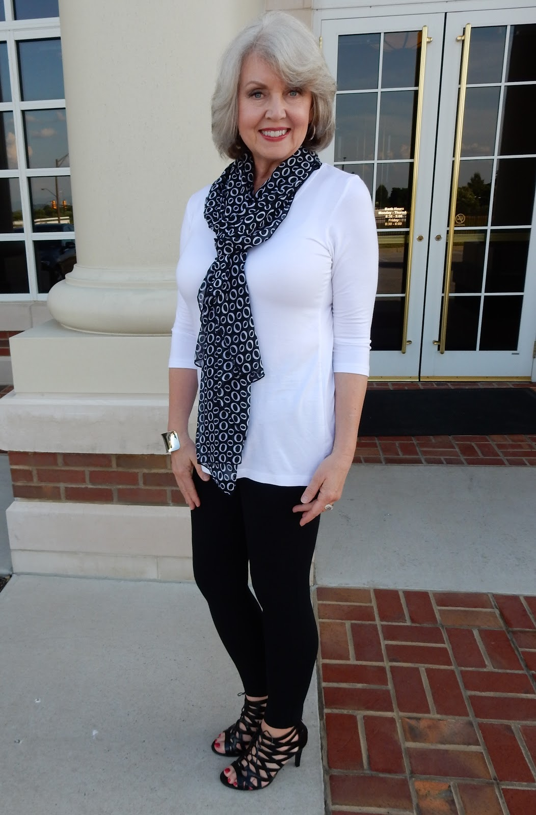 Fifty Not Frumpy Covered Perfectly Vest And Tunic