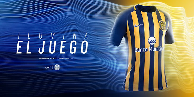 Outstanding Nike Rosario Central 2017 Home and Away Kits Released ... b6f751369