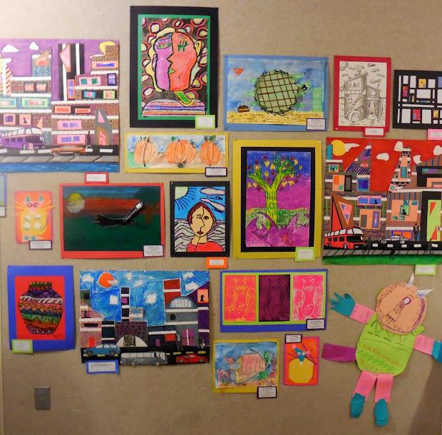 Woodside Art Wo Elementary Show Haac