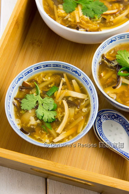 素酸辣湯 Vegetarian Hot and Sour Soup02