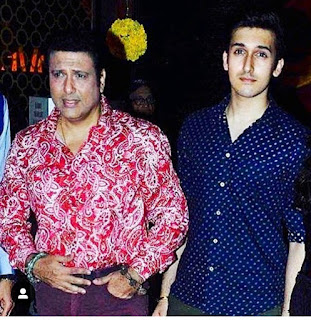 Govinda son Bollywood entry