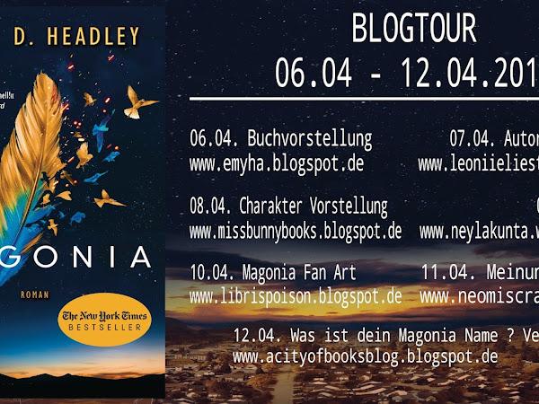 {Blogtour} Ankündigung zu - Magonia -