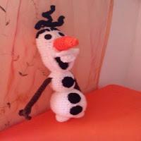 PATRON GRATIS OLAF | FROZEN AMIGURUMI 30337