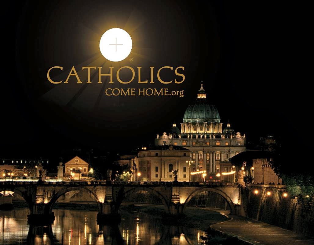 Web  Catholics Come Home (Católicos regresen a casa)