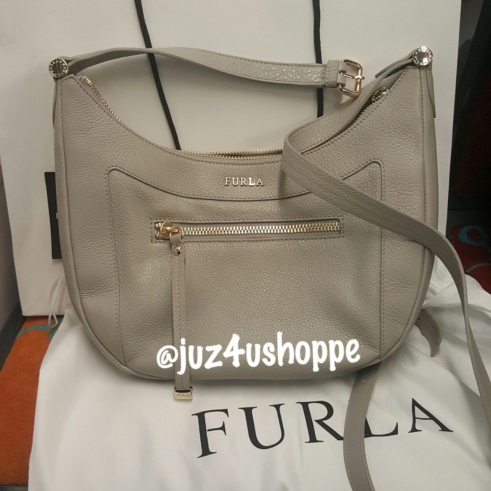 60daf78b1619 Furla Ginevra Leather Crossbody Bag. SOLD. Approximate size   8