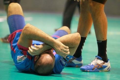 Leo Querín lesionado: De  a 6 semanas de baja | Mundo Handball