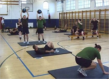 P  NORTH FITNESS: Military Circuit Training: Types and Workouts