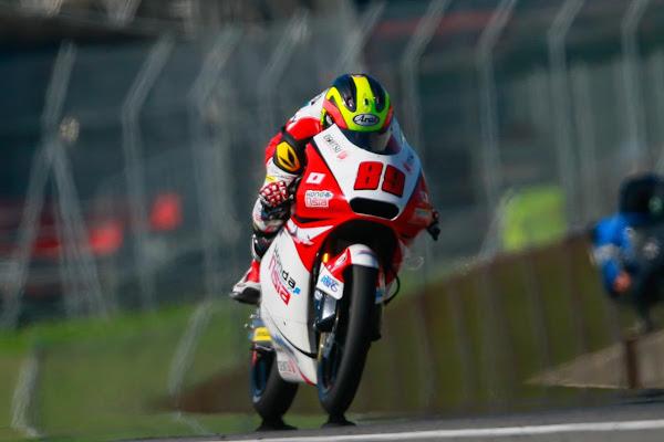Khairul Idham Pawi 89 Malaysia Moto3 2016