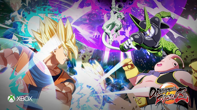 Dragon Ball FighterZ Xbox splash screen leaked image