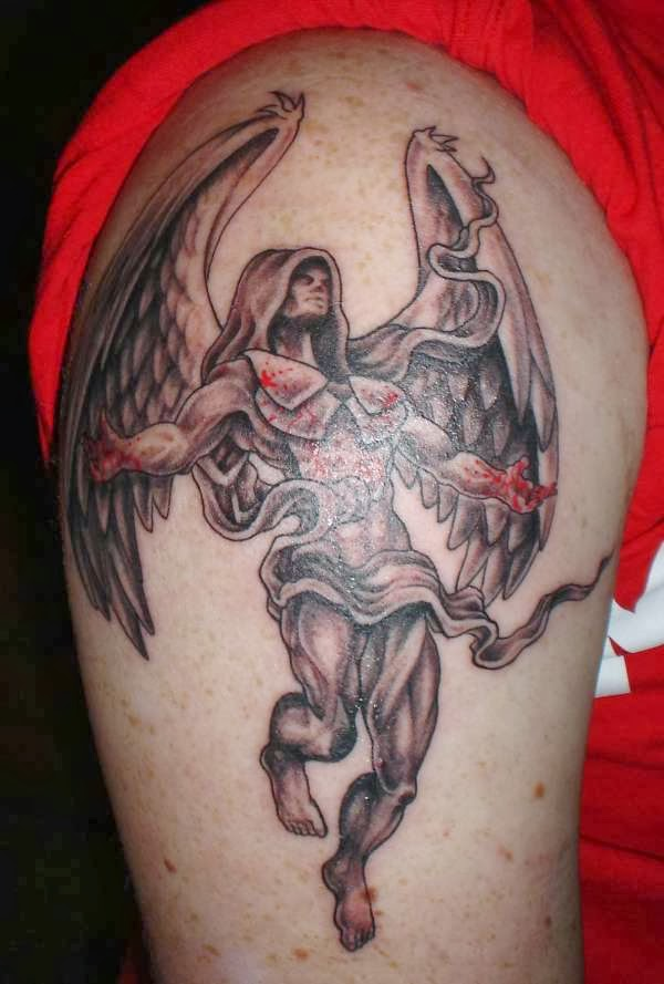 Angel Of Death Tattoos 2013 | Fashion Tips For All