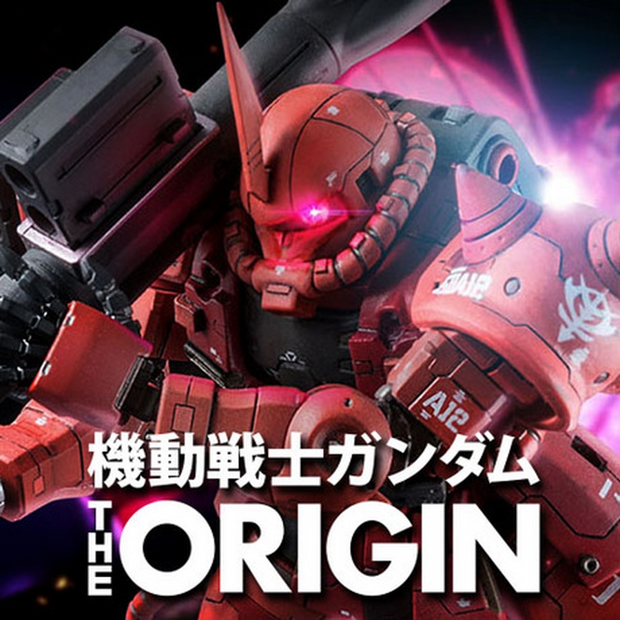 Custom Build Hg 1 144 Char S Zaku Ii Gundam The Origin Ver Quot Detailed Quot Gundam Kits