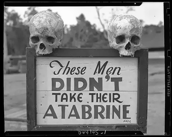 Advertisement for Atabrine