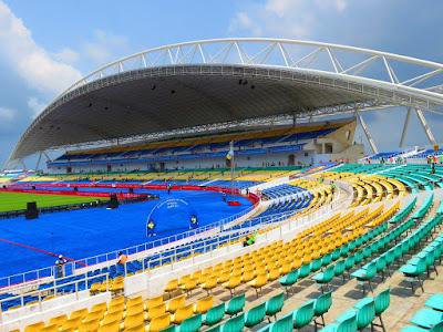 Stade d'Angondjé, Libreville.