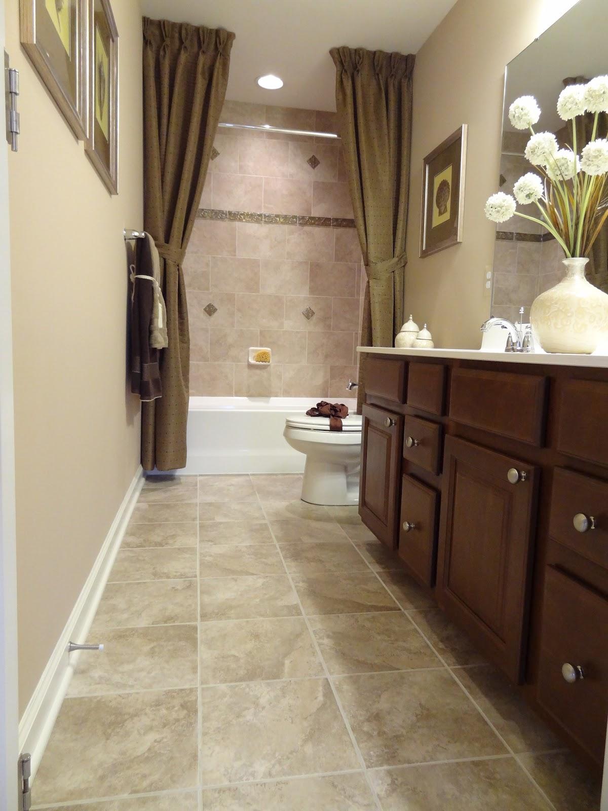 Lot 106 model - Small bathroom ideas with tub ...