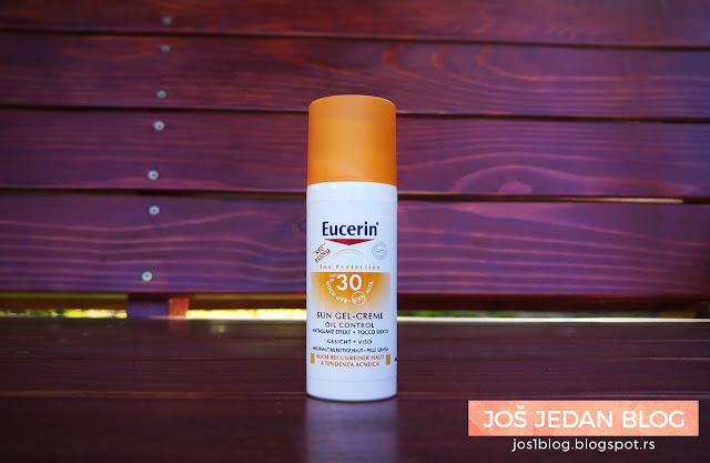 Eucerin Sun Oil Control gel-creme spf 30 review recenzija