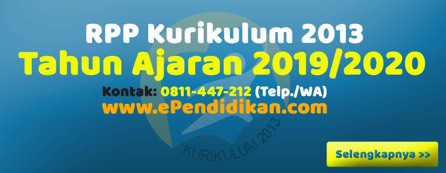 Klik RPP Kurikulum 2013 revisi