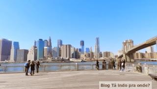 Manhattan vista do Brooklyn