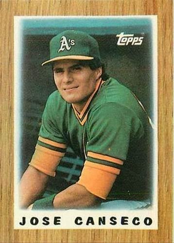 The Snorting Bull My Top 50 Players On Cardboard 35 Jose Canseco