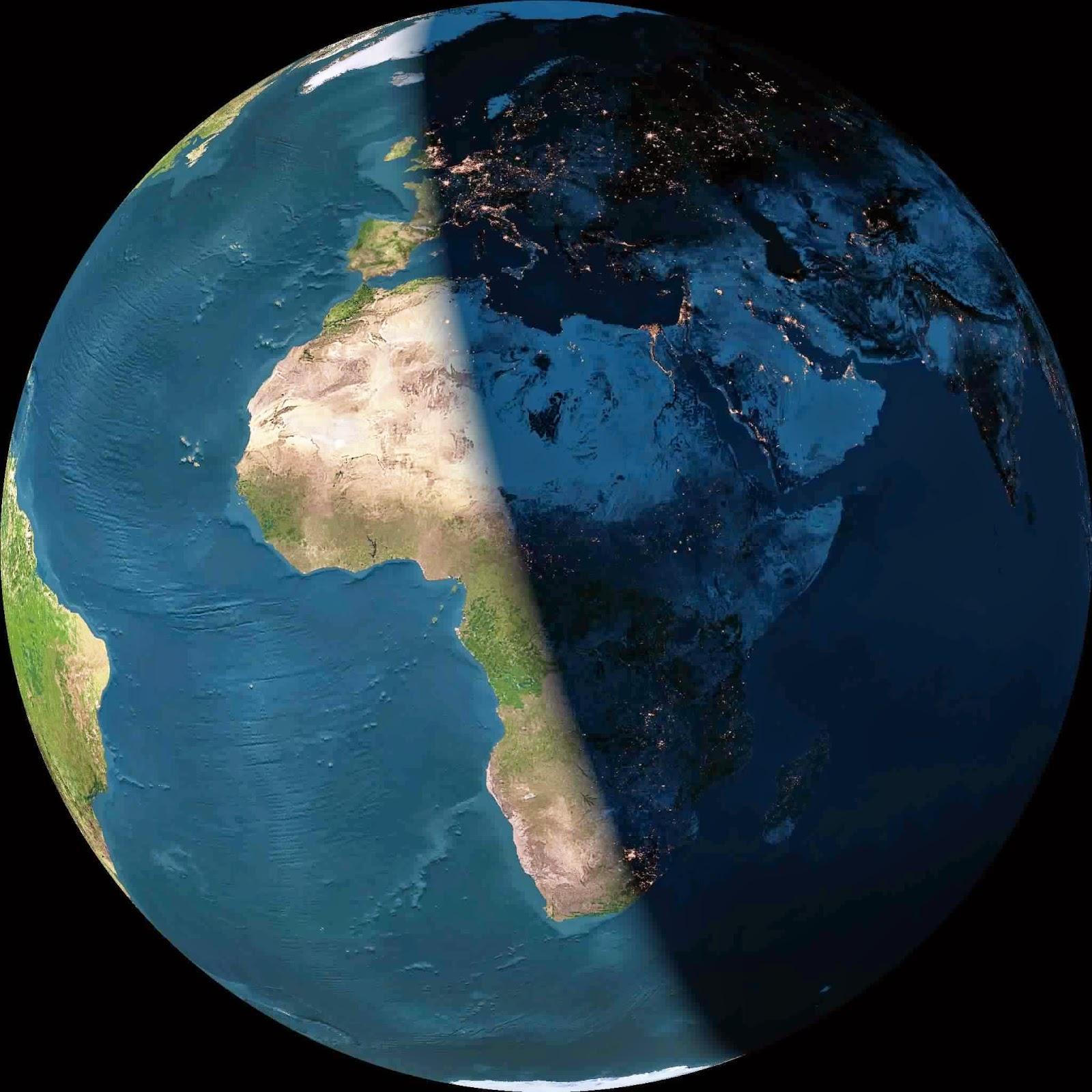 image de la terre qui tourne