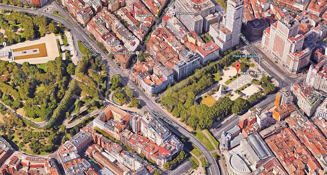 Reforma de Plaza España sin torre